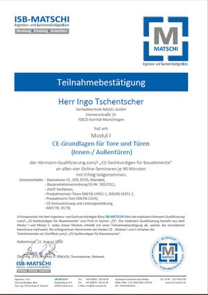 CE-Grundlagen für Tore und Türen (Innen-/ Außentüren)